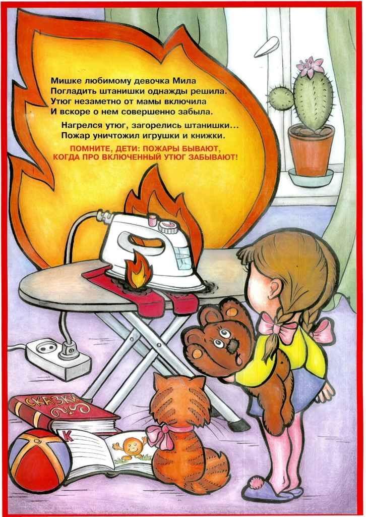 Рисунки для стендов пожарной безопасности